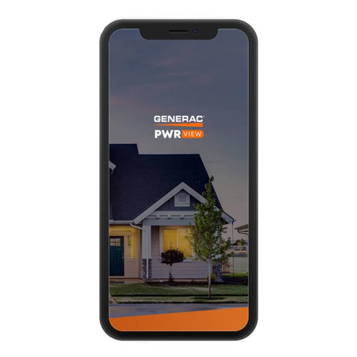 Mobile phone Generac app